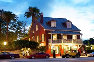 pet friendly restaurant in st augustine